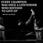 Champions refused to give up