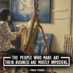 Picasso about art business